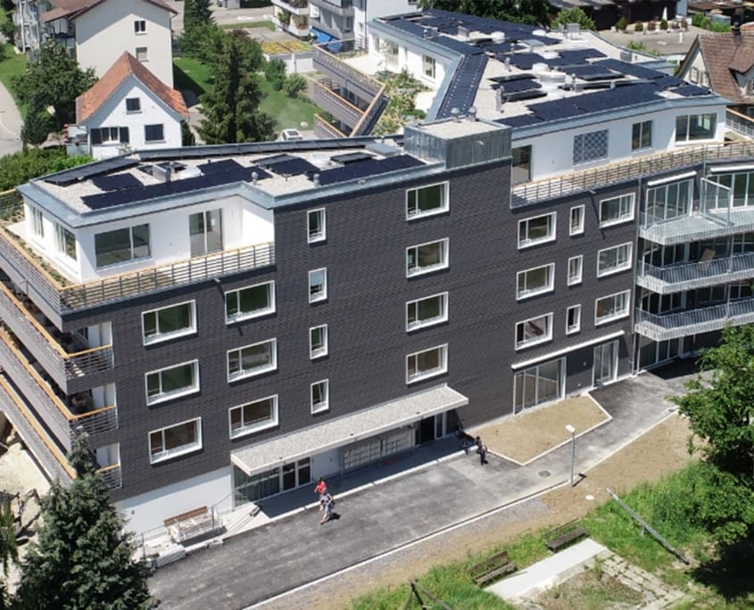 Wohnungsgebäude Immobilien-Referenz | Wolf Treuhand